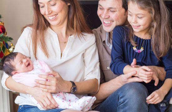 yeni doğan aile fotoğrafı