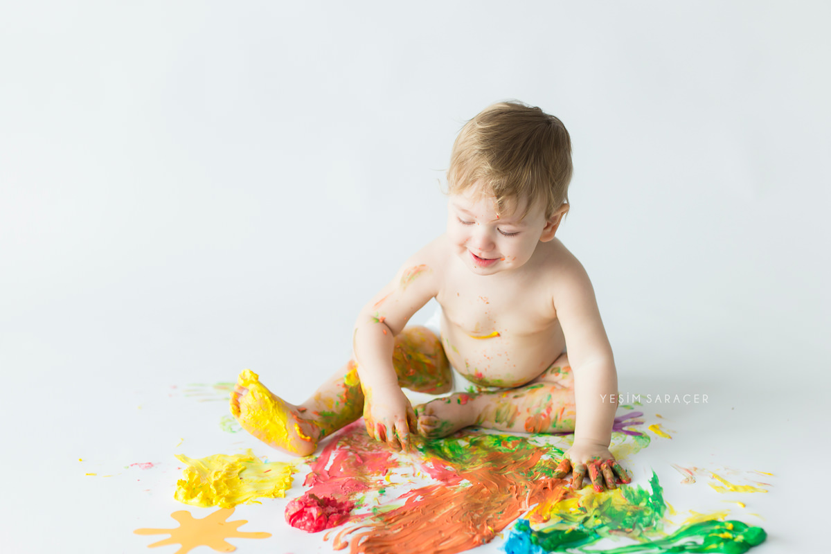 paint smash one year old